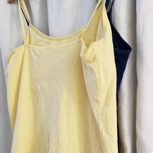 Old Navy Tops - 2 Old navy shelf bra camis FINAL PRICE